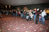 December 31, 2012: The Oklahoma City Barons play the Texas Stars in an American Hockey League game at the Cox Convention Center in Oklahoma City.