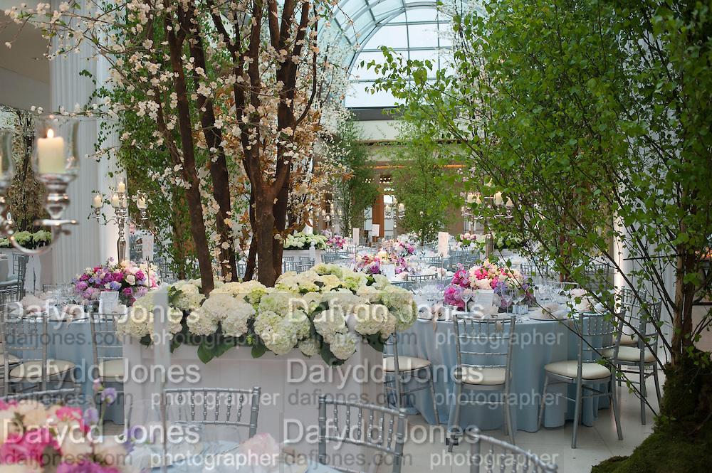The Cartier Chelsea Flower show dinner. Hurlingham club, London. 20 May 2013.