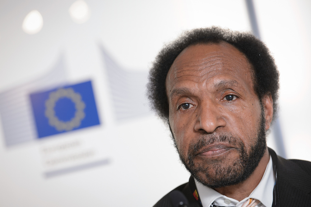 04 June 2015 - Belgium - Brussels - European Development Days - EDD - Climate - After Pam - Supporting the agri-food sectors in Vanuatu - Amos Wama Taporaie , Economic Affairs Officer , United Nations Conference on Trade and Development (UNCTAD) © European Union