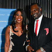 Levi Roots and Joanne Caesar attend Awareness gala hosted by the Health Committee with live music and poetry performances at City Hall at The Queen's Walk, London, UK. 18 March 2019.