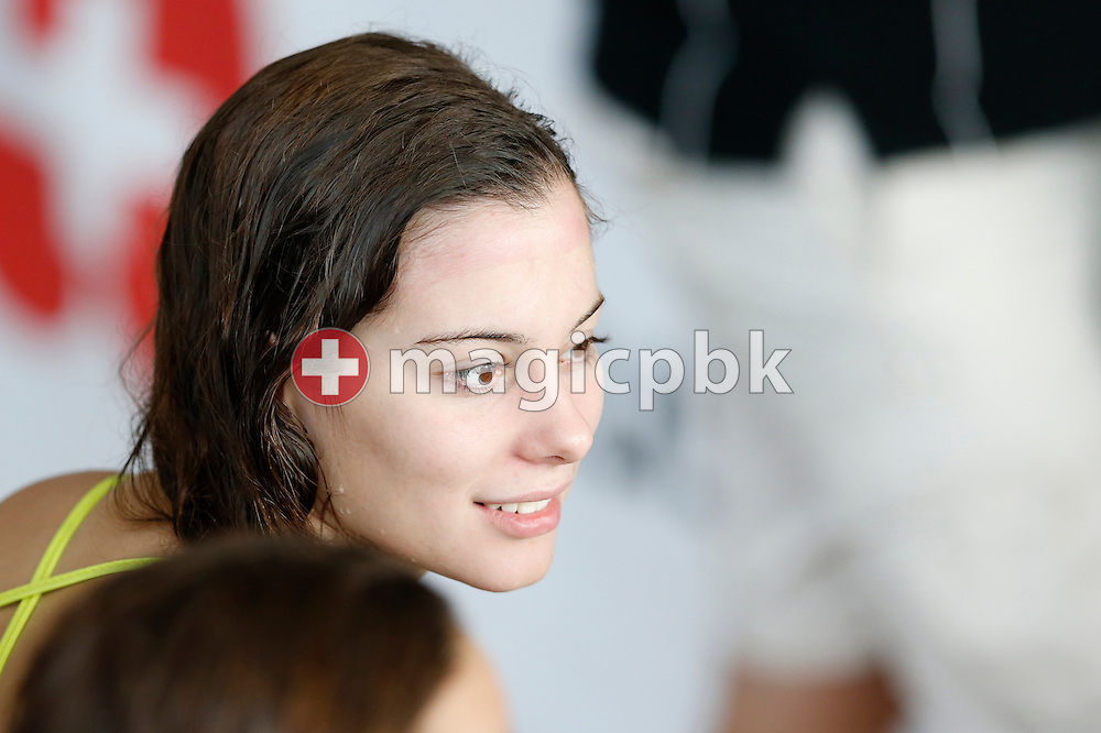 SCUW's Jessica EBERHART of Switzerland is pictured during the Swiss Short Course Swimming Championships in Lausanne, Switzerland, Friday, Nov. 29, 2013. (Photo by Patrick B. Kraemer / MAGICPBK)