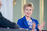 08 JUN 2018, BERLIN/GERMANY:<br /> Susanne Klatten, Unternehmerin, Tag des deutschen Familienunternehmens, Stiftung Familienunternehmen, Hotel Adlon<br /> IMAGE: 20180608-01-222