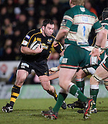 Wycombe, GREAT BRITAIN,   Wasps', Pat BARNARD, during the Guinness Premiership rugby game, London Wasps vs Leicester Tigers at Adam's Park Stadium, Bucks, England, on Sun 15.02.2009. [Photo, Peter Spurrier/Intersport-images]