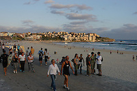 Bondi beach at sunset, Sydney, Australia.