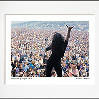Paul Rodgers - An affordable archival quality matted print ready for framing at home.<br />