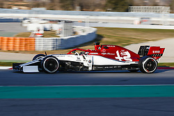 February 19, 2019 - Barcelona, Spain - Giovinazzi during F1 test celebrated at Circuit of Barcelona 19th February 2019 in Barcelona, Spain. (Credit Image: © Urbanandsport/NurPhoto via ZUMA Press)