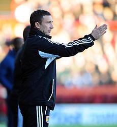 Bristol City Manager, Derek McInnes - Photo mandatory by-line: Joe Meredith/JMP  - Tel: Mobile:07966 386802 11/11/2012 - Bristol City v Charlton Athletic - SPORT - FOOTBALL - Championship -  Bristol  - Ashton Gate Stadium -