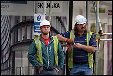 JUN 25 2014 Workmen in London