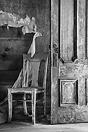 Door Open, Chair Waiting, Bodie, CA