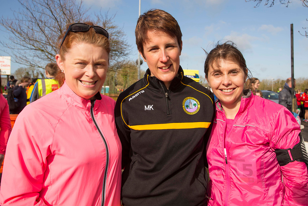 12/03/2017, Bohermeen AC 10k road Race & Half Marathon<br /> Pictured at the event: L-R Fiona McKenna, Miriam Keogan & Deirdre Brennan<br /> David Mullen / www.cyberimages.net<br /> ISO: 160; Shutter: 1/250; Aperture: 9; <br /> File Size: 2.7MB<br /> Actuations: