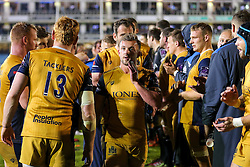 Andy Uren of Bristol Rugby looks frustrated after a 22-6 loss - Rogan Thomson/JMP - 20/10/2016 - RUGBY UNION - The Recreation Ground - Bath, England - Bath Rugby v Bristol Rugby - EPCR Challenge Cup.