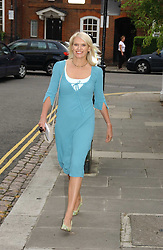 ANNEKA RICE at Sir David & Lady Carina Frost's annual summer party held in Carlyle Square, Chelsea, London on 5th July 2006.<br /><br />NON EXCLUSIVE - WORLD RIGHTS