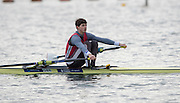 Caversham, Great Britain, Lightweight men's  single sculler, Zak GREEN-LEE  competing  at the 2014 British Rowing  December Trials, at the GBRowing Base near Reading, England Saturday  20/12/2014    [Mandatory Credit. Peter SPURRIER/Intersport Images. .   Empacher.