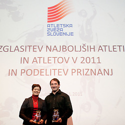 20111111: SLO, Athletics - Slovenian Atheltics Annual Awards by AZS for year 2011