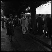 R.D.S. Horse Show, Tuesday, Prince and Princess de Ligne of Belgium at R.D.S.<br /> 08.08.1961