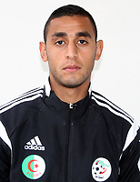 Confederation of African Football - World Cup Fifa Russia 2018 Qualifier / <br /> Algeria National Team - Preview Set - <br /> Faouzi Ghoulam