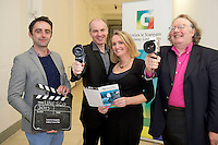 Lights, camera, action for Galway as the city of the Tribes announces its bid to join UNESCO's Creative Cities network as a City of Film! With the audiovisual sector in the West of Ireland having a direct contribution of €72 million to the region in 2012 and only two other designated cities of film in the world, it signals the significance of the bid on both a national and international scale. 02/07/2013 repro free Lights, camera, action for Galway as the city of the Tribes announces its bid to join UNESCO's Creative Cities network as a City of Film! With the audiovisual sector in the West of Ireland having a direct contribution of €72 million to the region in 2012 and only two other designated cities of film in the world, it signals the significance of the bid on both a national and international scale.  Patrick Collins, NUIG, Declan Gibbons, Galway Film Centre Galway,  County Arts Officer Marilyn Gaughan and James Harold City Arts Officer. Picture:Andrew Downes