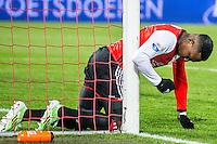 ROTTERDAM - Feyenoord - FC Groningen , Voetbal , Eredivisie , Seizoen 2016/2017 , Feijenoord stadion de Kuip , 11-02-2017 ,  Feyenoord speler Eljero Elia baalt van gemiste kans