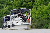 Tourism, Danube delta rewilding area, Romania