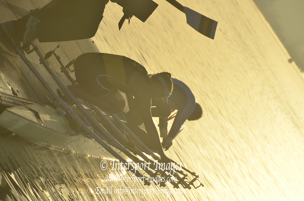 Sydney, Australia. Sydney International Rowing Regatta. held at the Sydney International Rowing Centre, Penrith Lakes, NSW.   AUS, W4X, boating. Tuesday   19/03/2013 [Mandatory Credit. Karon Phillips/Intersport Images]..