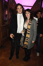 ADAM WAYMOUTH and ANNIE MORRIS at an auction in aid of The Parkinson's Appeal for Deep Brain Stimulation 'Meeting of Minds' held at Christie's, King Street, London SW1 followed by a dinner at St.John, 26 St.John Street, London on 16th October 2007.<br /><br />NON EXCLUSIVE - WORLD RIGHTS