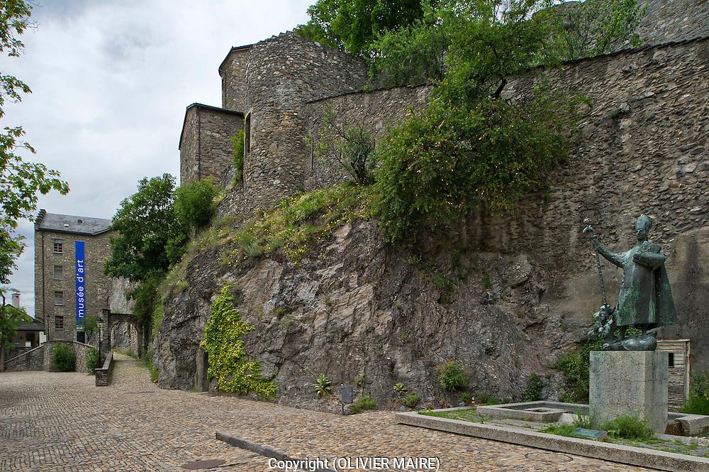 Musée ART 2010 Place de la Majorie Sion Valais Suisse. (PHOTO-GENIC.CH/ OLIVIER MAIRE)