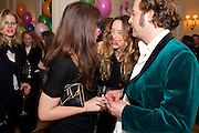LARA BOHINC; ALICE TEMPERLEY; LARS VON BENNIGSEN, Kate Reardon and Michael Roberts host a party to celebrate the launch of Vanity Fair on Couture. The Ballroom, Moet Hennessy, 13 Grosvenor Crescent. London. 27 October 2010. -DO NOT ARCHIVE-© Copyright Photograph by Dafydd Jones. 248 Clapham Rd. London SW9 0PZ. Tel 0207 820 0771. www.dafjones.com.