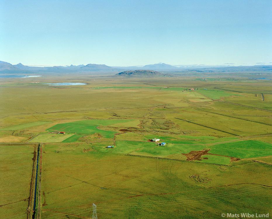 Brjánsstaðir séð til norðausturs, Grímsnes- og Grafningshreppur / Brjansstadir viewing northeast, Grimsnes- og Grafningshreppur.