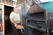 Barbecue in Stepanakert market, Nagorno-Karabakh