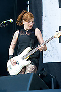 07.JUNE.2013. NUERBURG<br /> <br /> INES MAYBAUM OF BROILERS PERFORMS ON STAGE DURING THE FIRST DAY OF ROCK AM RING  ON JUNE 07, 2013 IN NUERBURG, GERMANY.  <br /> <br /> BYLINE: EDBIMAGEARCHIVE.CO.UK<br /> <br /> *THIS IMAGE IS STRICTLY FOR UK NEWSPAPERS AND MAGAZINES ONLY*<br /> *FOR WORLD WIDE SALES AND WEB USE PLEASE CONTACT EDBIMAGEARCHIVE - 0208 954 5968*