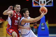 LIGNANO SABBIADORO, 13 LUGLIO 2015<br /> BASKET, EUROPEO MASCHILE UNDER 20<br /> ITALIA-SERBIA<br /> NELLA FOTO: Marco Spissu<br /> FOTO FIBA EUROPE/CASTORIA