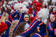 The Varsity Spirit All-American UCA & NCA Cheerleaders - The New Years Day parade passes through central London.