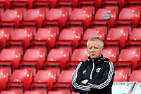 Football - 2019 / 2020 Premier League - Sheffield United vs Tottenham Hotspur<br /> Sheffield United manager Chris Wilder, at Bramall Lane.<br /> <br /> COLORSPORT/PAUL GREENWOOD