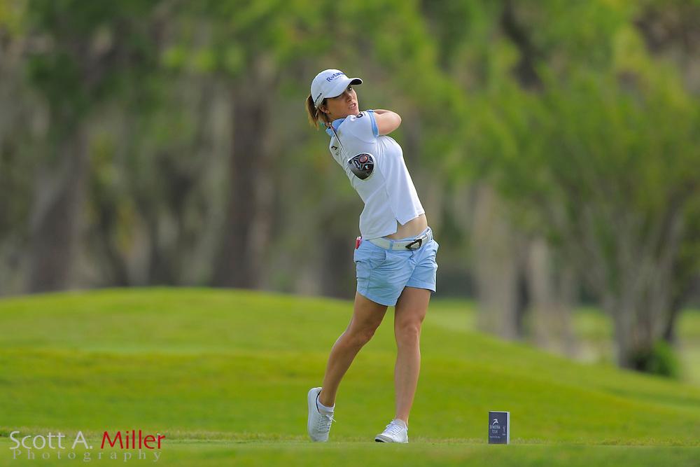 Melissa Reid during second round of the Symetra Tour's Guardian Retirement Championship at Sara Bay in Sarasota, Florida April 27, 2013. ..©2013 Scott A. Miller