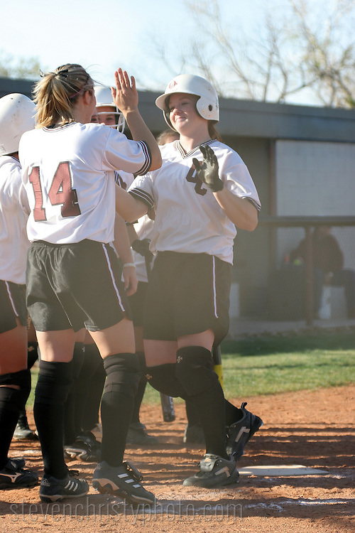 OC Softball vs OBU.March 28, 2006.7-6 win