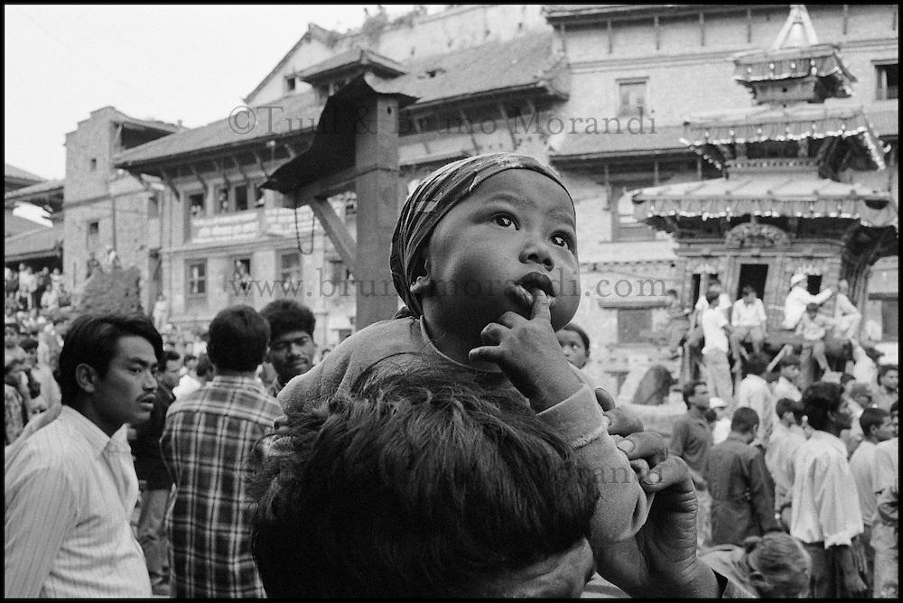 Nepal. Vallée de Kathmandu. Kathmandu. // Nepal. Kathmandu valley. Kathmandu.