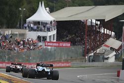 September 1, 2019, Spa Francorchamps, Belgium: Williams Driver GEORGE RUSSEL (GBR) in action during the race of the Formula one Johnnie Walker Belgian Grand Prix at the SPA Francorchamps circuit - Belgium..Charles Leclerc wins his first Formula One Grand Prix (Credit Image: © Pierre Stevenin/ZUMA Wire)