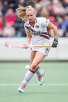 AMSTERDAM - Amsterdam - Den Bosch , Wagener Stadion , Hockey , Play-off hoofdklasse hockey , 03-05-2015 , Amsterdam speelster Kitty van Male