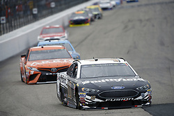 July 22, 2018 - Loudon, New Hampshire, United States of America - Aric Almirola (10) battles for position during the Foxwoods Resort Casino 301 at New Hampshire Motor Speedway in Loudon, New Hampshire. (Credit Image: © Justin R. Noe Asp Inc/ASP via ZUMA Wire)