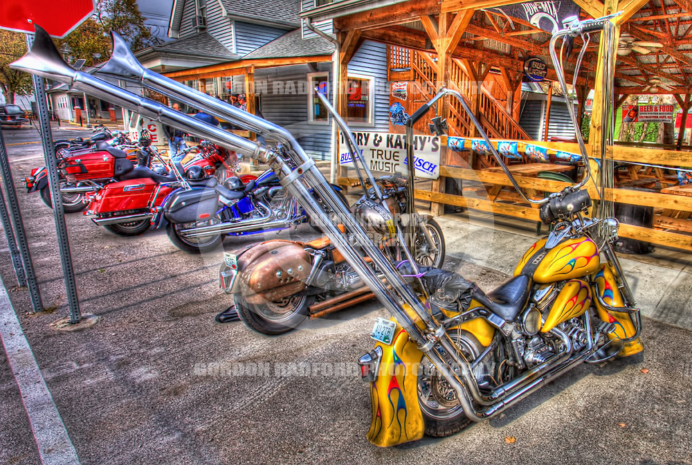 HDR MOTORCYCLE PHOTOGRAPHY, HWY 94, DEFIANCE, MISSOURI