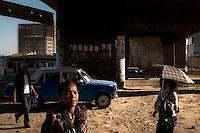 Street scene in Addis Ababa.