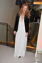OLIVIA INGE at the unveiling of the Helena Christensen and Swarovski Crystallized Unsigned Model search winners held at Swarovski Crystallized, 24 Great Marlborough Street, London on 26th January 2012.