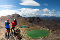 tongariro expeditions photo shoot in the tongariro national park worlds most scenic alpine crossing hiking in new zealand