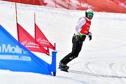PATMORE Simon, SB-UL, AUS, Snowboard Cross at the WPSB_2019 Para Snowboard World Cup, La Molina, Spain