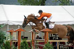 Van Gerwen Jody (NED) - Shalon<br /> European Championship Juniors - Praha 2008<br /> Photo © Hippo Foto