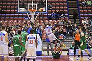 DESCRIZIONE : Milano Final Eight Coppa Italia 2014 Semifinale Enel Brindisi - Montepaschi Siena<br /> GIOCATORE : Delroy James<br /> CATEGORIA : Tiro Penetrazione<br /> SQUADRA : Enel Brindisi <br /> EVENTO : Final Eight Coppa Italia 2014 Milano<br /> GARA : Enel Brindisi - Montepaschi Siena<br /> DATA : 08/02/2014<br /> SPORT : Pallacanestro <br /> AUTORE : Agenzia Ciamillo-Castoria / Luigi Canu<br /> Galleria : Final Eight Coppa Italia 2014 Milano<br /> Fotonotizia : Milano Final Eight Coppa Italia 2014 Semifinale Enel Brindisi - Montepaschi Siena<br /> Predefinita :