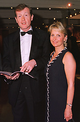 MR & MRS STEVE DAVIS he is the snooker player, at a dinner in London on 19th May 1999.MSF 47 2oro