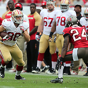 San Francisco 49ers tight end Garrett Celek (88) during an NFL football game between the San Francisco 49ers  and the Tampa Bay Buccaneers on Sunday, December 15, 2013 at Raymond James Stadium in Tampa, Florida.. (Photo/Alex Menendez)