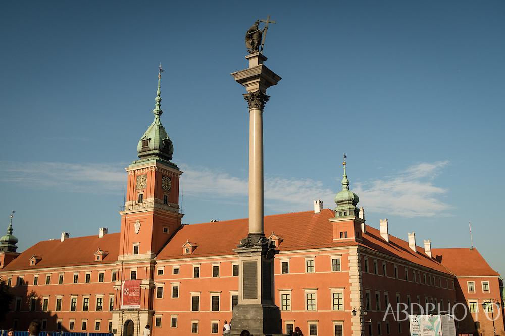 Old City Warsaw Poland