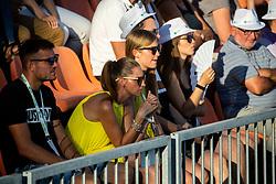 Fans during ATP Challenger Zavarovalnica Sava Slovenia Open 2019, day 7, on August 15, 2019 in Sports centre, Portoroz/Portorose, Slovenia. Photo by Vid Ponikvar / Sportida